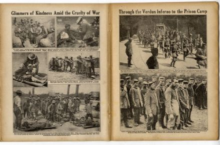 1916 WW1 MAGAZINE War VERDUN Somme KAISER German Crown Prince (6010